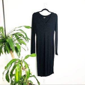 Wilfred Free┃Aritzia midi knit sweater dress